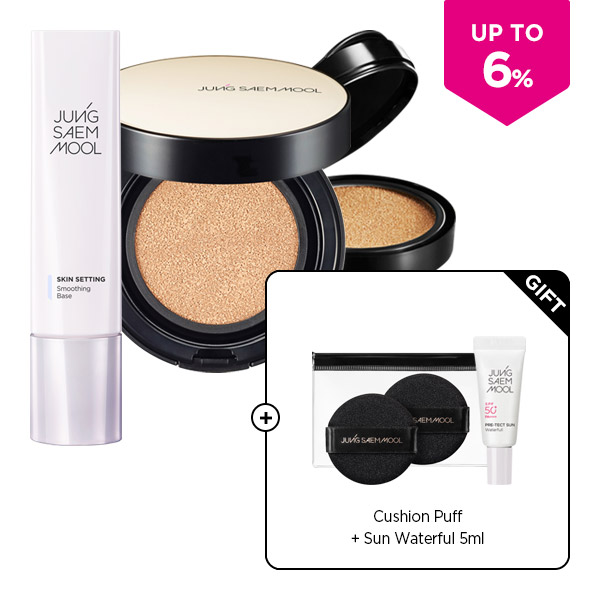 [PRE-SUMMER SET]Skin Nuder Long Wear Cushion (refill included)+Skin Setting Smoothing Base SET